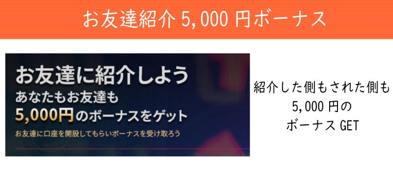 AnzoCapitalのお友達紹介5,000円ボーナス